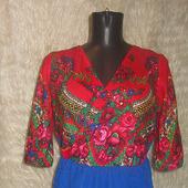 Платье из японского платка