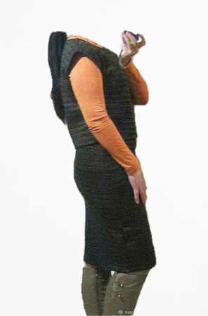 Теплая юбка-карандаш ручной работы на заказ