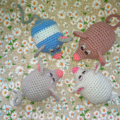 Мышка сувенирная