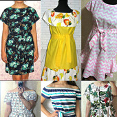 Женское летнее платье из 100% хлопка