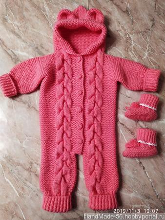 Комбинезон для новорождённых ручной работы на заказ