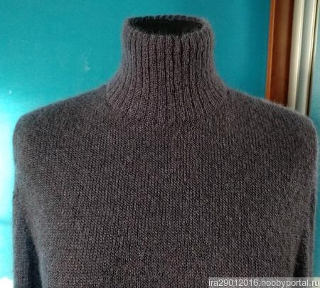 """Водолазка-свитер """"Мой туман"""" ручной работы на заказ"""