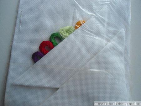 """Набор для вышивки """"Три салфетки"""" ручной работы на заказ"""