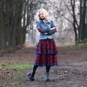 фото: юбка на осень