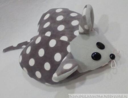 Мышка-подушечка ручной работы на заказ