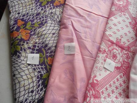 Ткань хлопок винтажный ручной работы на заказ