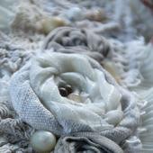 Браслет-манжета текстильный «Soave»