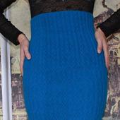 Мастер-класс: Вязаная юбка