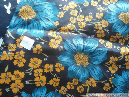 Ткань шелк винтажный ручной работы на заказ