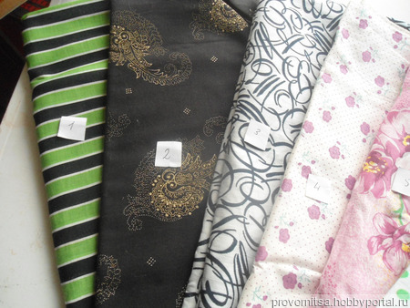 Ткань хлопок винтажный 2 ручной работы на заказ