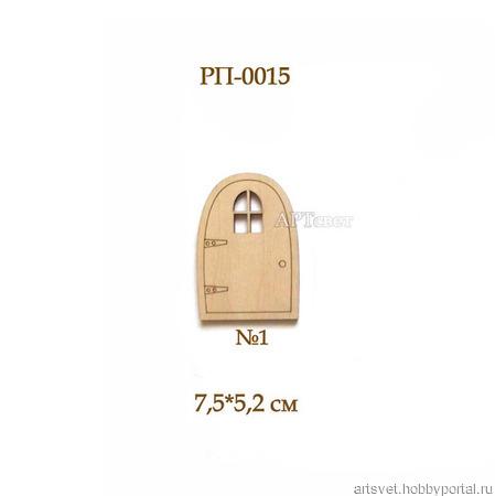 015 Двери к чайным домикам, панно или... Заготовки для декупажа ручной работы на заказ