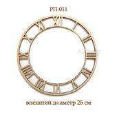011 Циферблат для часов. Заготовки для росписи и декупажа