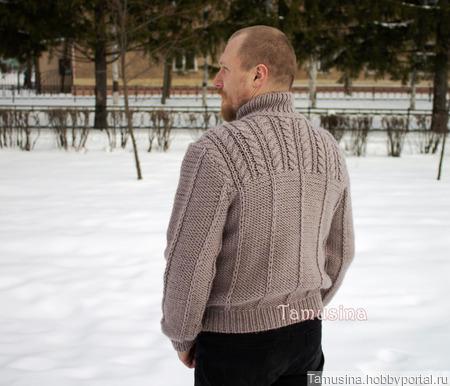 """Мужской свитер """"Janssen"""" ручной работы на заказ"""
