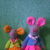 Мышки текстильные