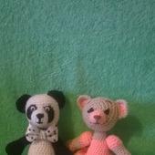 Медведи мальчик и девочка
