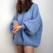 Модный свитер оверсайз из мохера в Ульяновске