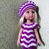"""Комплект одежды для куклы """"Волна"""""""