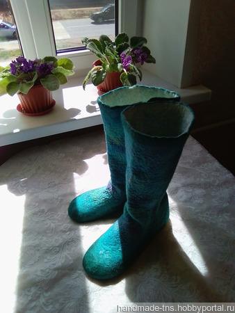 Тонкие войлочные носочки - джурабы ручной работы на заказ