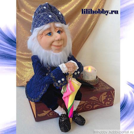 Композиция - кукла Оле Лукойе, шкатулка, ночник ручной работы на заказ