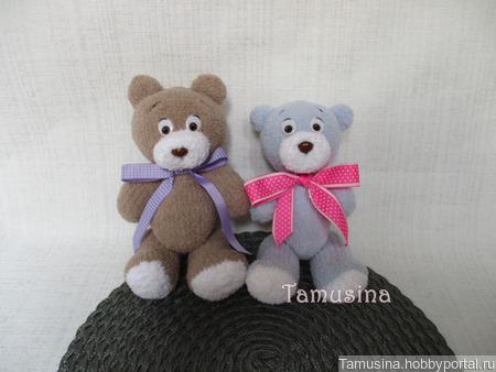 Мишка Капучино и мишка Облачко ручной работы на заказ