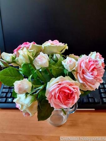 """Букет """"Розовое облако"""" ручной работы на заказ"""