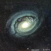 """Картина """"Галактика в созвездии Волосы Вероники"""""""