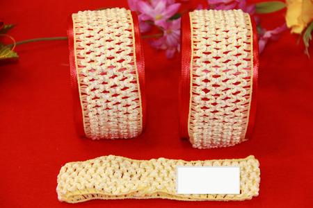 Повязки-основа кремового цвета ручной работы на заказ