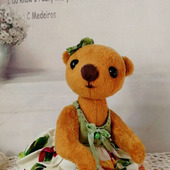 Мишка-тедди, медведица Софи
