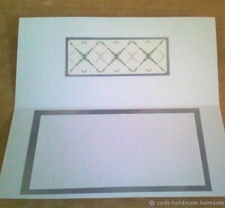 "Набор открыток  ""Абстракция"" (3 шт) ручной работы на заказ"