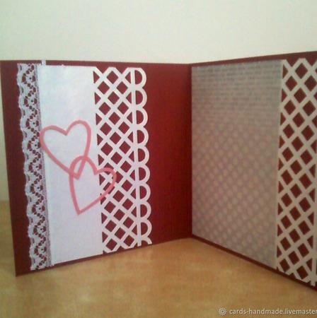 """Мини открытки для женщин  """"Элегия"""" ручной работы на заказ"""