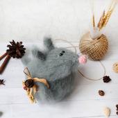 """Мягкая игрушка """"Хозяйственный мышонок"""" Интерьерная игрушка"""