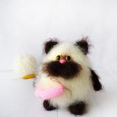 КОТ - хранитель домашнего очага:) интерьерная игрушка.