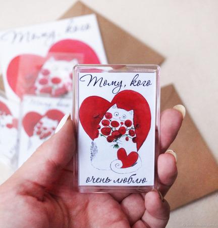 Магниты для влюблённых ручной работы на заказ