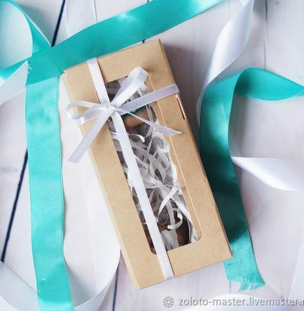 """Подарочный набор """"Пончики"""" Ложечка+ вилочка ручной работы на заказ"""