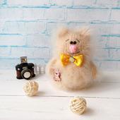 Котик Сёма - интерьерная игрушка