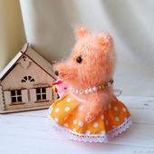 Интерьерная игрушка Лиса-краса