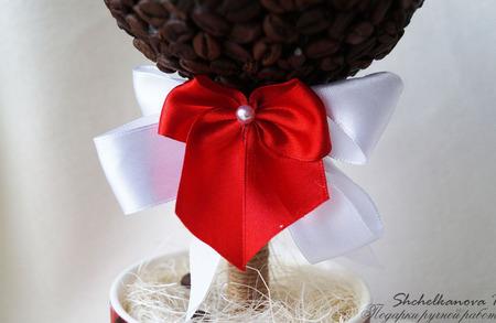 """Кофейное деревце  """"Дерево счастья"""" ручной работы на заказ"""