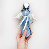 Интерьерная народная кукла кукла-мотанка