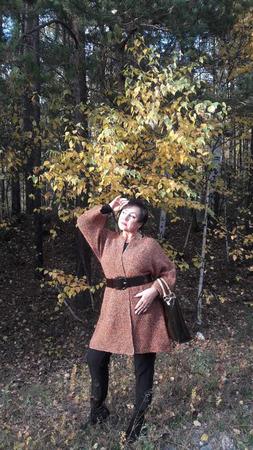 """Пальто """"Имбирный пряник"""" ручной работы на заказ"""