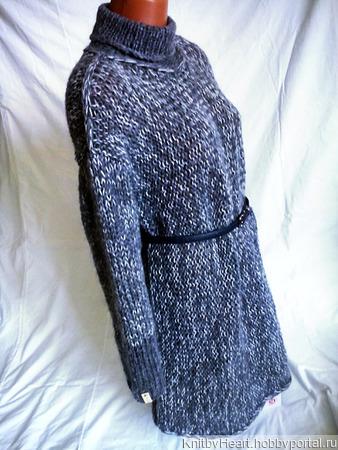 """Нежнейший свитер-платье """"Cloud"""" ручной работы на заказ"""