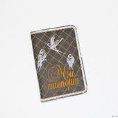 "Обложка на паспорт ""Птицы"""
