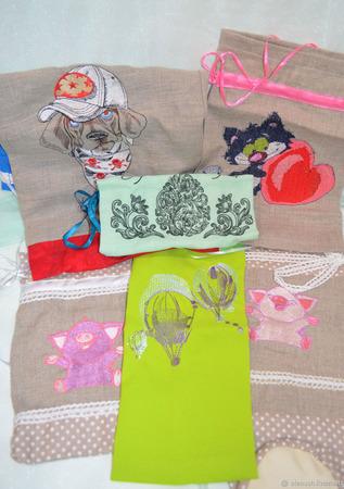 Мешочки для подарков ручной работы на заказ