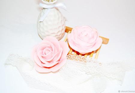 "Мыло ручной работы ""Королевская роза"" ручной работы на заказ"