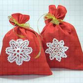 Новогодний мешочек для подарков