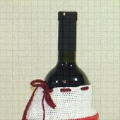 Декоративный подарочный носок Санты Клауса