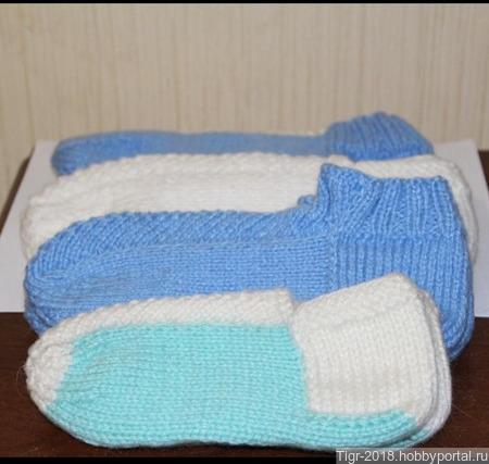 Носки зимние ручной работы на заказ