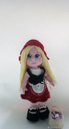 Кукла Красная шапочка ручной работы на заказ