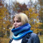фото: снуд шарф труба