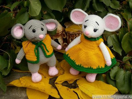 Мышки норушки ручной работы на заказ