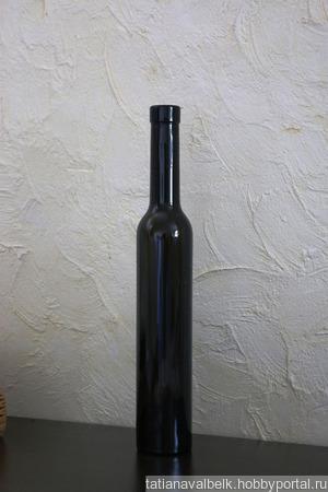 Бутылки темные ручной работы на заказ